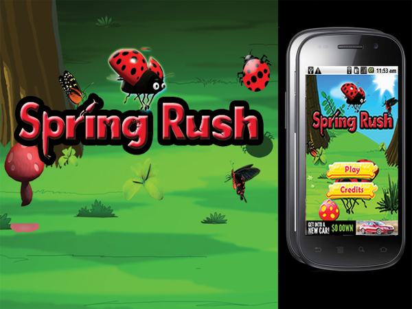 Spring Rush Android Game